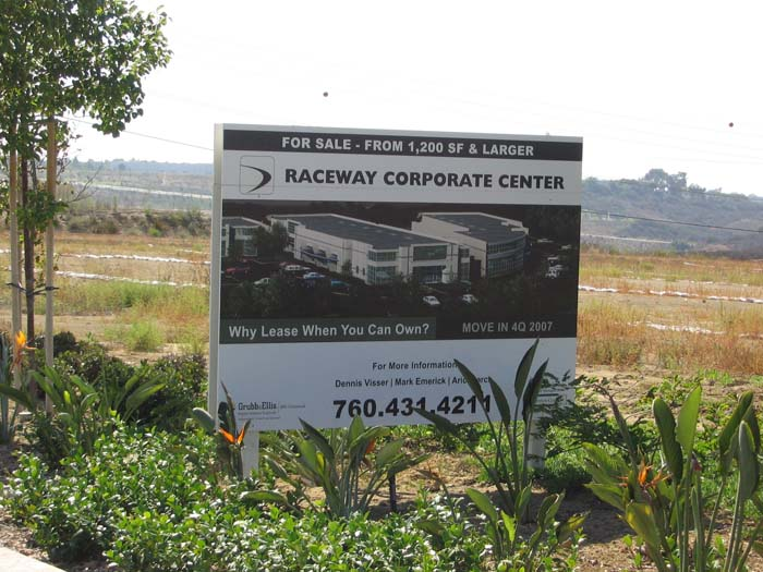Business Park Sign