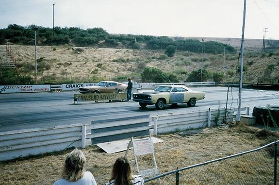 Mike Purdue's Roadrunner at Carlsbad 1986