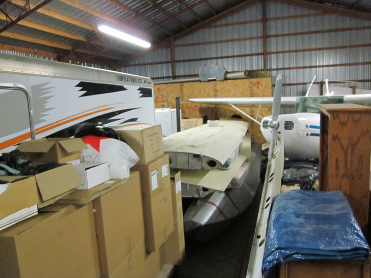 Photo - 11 1947 Cessna 140-1 Stuffed in the hangar