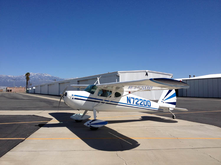 Photo - 11 1947 Cessna 140-2 Headed for Oregon
