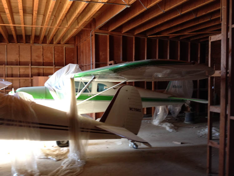 Photo - 14 1946 Cessna 140-1 In it's 20 year tomb