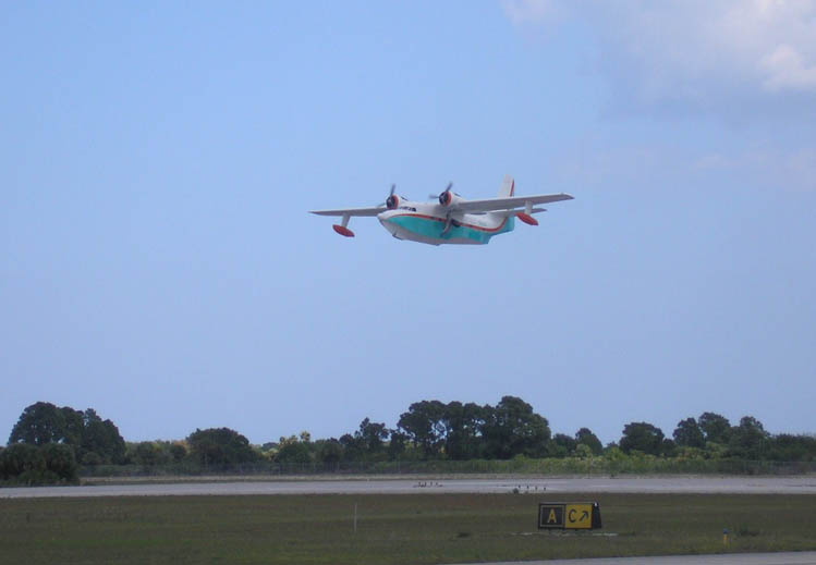 Photo - 6 Grumman HU-16B Albatross-1 Departing Florida
