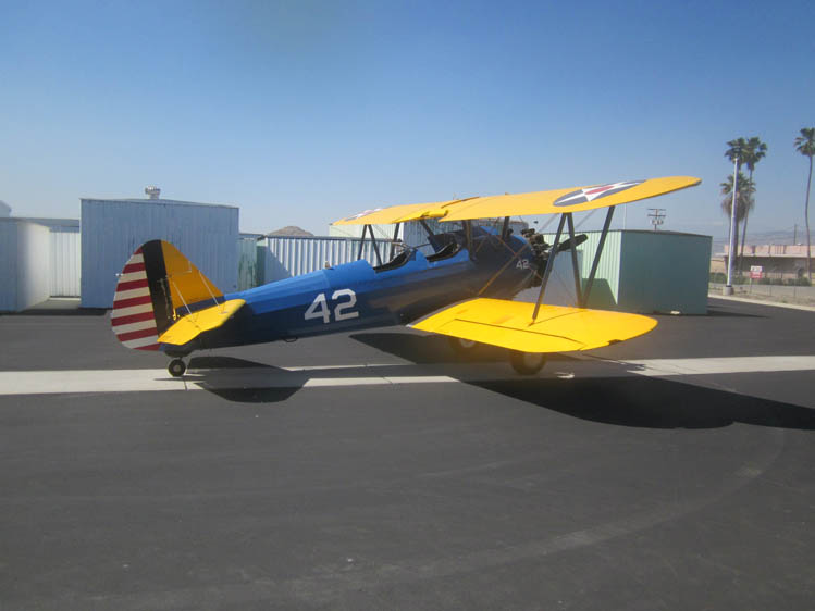 Photo - 7 Boeing Stearman PT-17