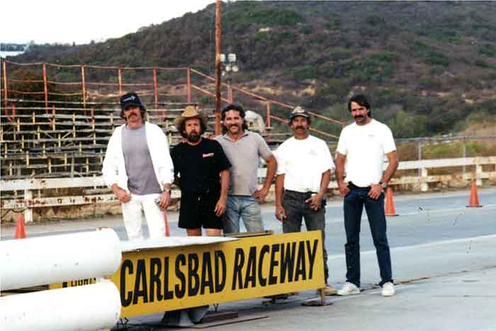 The day we poured the cement starting line in 1994. Hard to believe that was 20 years ago!