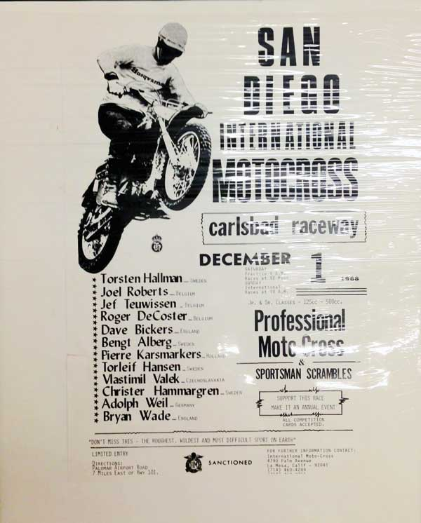 Dec. 1, 1968 Motocross Flyer