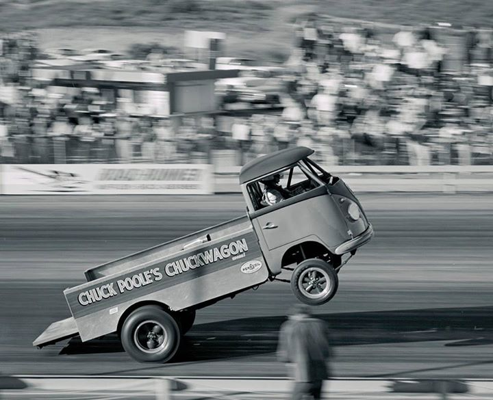 "Found on the NHRA website: Chuck Poole's ""Chuckwagon"" around 1967."