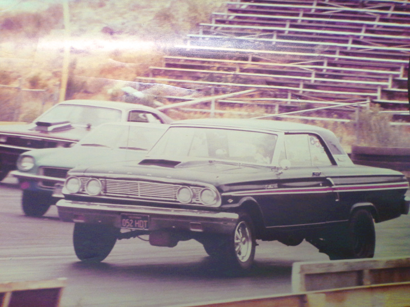 Ken Sweat's '64 Fairlane in 1972