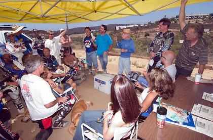 Last Rider's Meeting Aug 8, 2004