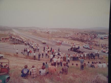 Drag strip in the early days.